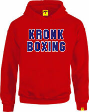 KRONK BOXING Classic Long Sleeved Hoodie Red
