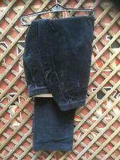 Austin Reed 100% Algodón Azul Marino Cord Pantalones Tamaño 34 R