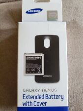 Samsung Galaxy Nexus Sprint Extended Battery & Back Door Cover 2100Mah