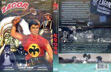 ZAGOR E L'ORO DEL PIRATA NERO DVD SLIPCASE IMPORT TURCHIA 1971 subtitle ITA RARO