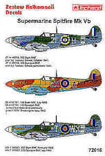 Techmod 1/72 Supermarine Spitfire Mk.Vb # 72016