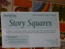 Vintage HearthSong Wooden Story Squares