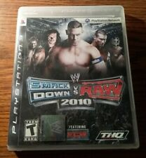 Sony PlayStation 3 PS3 Game WWE Smackdown Vs Raw 2010 Complete Tested Fast Ship!