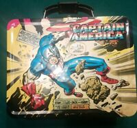 Stan Lee Captain America Metal Lunch Box 2010 art by Jack Kirby