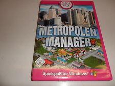PC metrópolis Manager