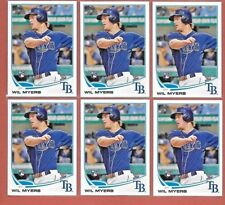 Lot (6) 2013 Topps Update WIL MYERS San Diego Padres RC #US200
