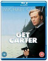 Get Carter [Blu-ray] [1971] [Region Free] [DVD][Region 2]