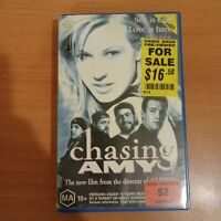 Chasing Amy VHS ex Rental Video Busters.