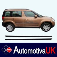 Skoda Yeti Rubbing Strips | Door Protectors | Side Protection Mouldings Kit