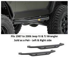 Jeep SRC Side Armor Side Steps for 1987-06 Jeep YJ and TJ Wrangler