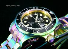 NEW Invicta 47mm Grand Diver Automatic BLACK Dial IRIDESCENT Bracelet Watch