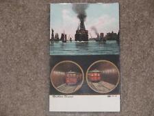 McAdoo Tunnel Lower Manhattan, unused vintage card (has small crease lower left)