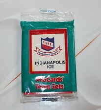 New listing Indianapolis Ice IHL Professional Hockey 1990 Procards Team Sets Unopened