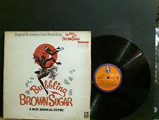 BUBBLING BROWN SUGAR  Original Broadway Cast Recording  L.P.   Great!