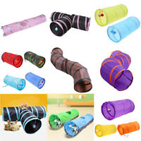 Dog Toy Cat Interactive Tunnel Pet Supplies Collapsible Crinkle Kitten Fun Play