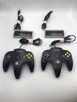 Nintendo 64 N64 NES Lot Of 4 USB Controller Gamepad Joystick PC MAC Retrolink