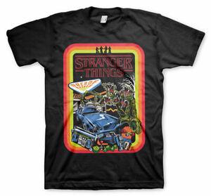 T-Shirt Stranger Things Retro Poster Men's Sweater Official Hybris