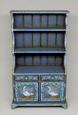 Vintage Karen Markland Wooden Goose Hutch Dollhouse Miniature 1:12
