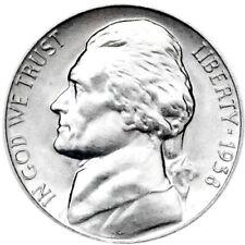 1938-S 5C BU Jefferson Nickel