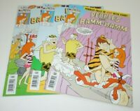 Pebbles and Bamm-Bamm 1 2 3 Comic LOT Harvey Classics Complete SET Flintstones