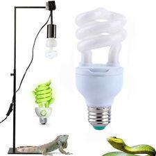 5.0/10.0 13W HIGH UV UVB Ampoule spirale LAMPE GLOBE Calcium Reptile Lézard