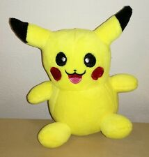 PELUCHE POKEMON PIKACHU PUPAZZO 15 CM pokemon center 2011 raichu pichu ash plush
