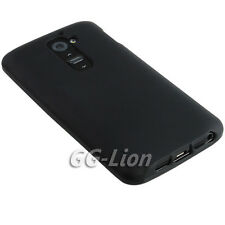 Black Gel Matte TPU Case Skin Cover For LG G2, D800 D801 D802TA LS980