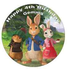 """Peter Rabbit Cake Topper Edible Wafer Paper 7.5"""" Or Under"""