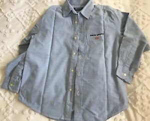 polo ralph lauren Boys Size 10 Blue Shirt