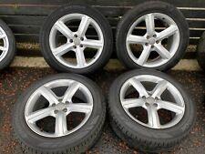 """Set Audi Q5 S Line Alloy Wheels Rims Tyres 235/55/19 19"""" INCH 8R0601025BD"""