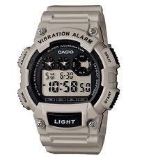 Casio Classic Watch * W735H-8A2V Digital Vibration Alarm Lt. Grey COD PayPal