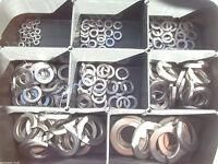 175 Teile Edelstahl V2A Federringe BOX M2 - M12 DIN 127 Rostfrei Sortiment