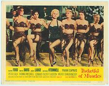 Rare Original VTG 1962 Bette Davis Pocketful Of Miracles 11x14 Movie Lobby Card