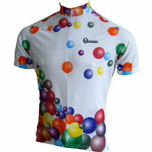 """Franklin Cycling Jersey / Balloon Vine / UK size L (40-41""""chest) / Short sleeve"""