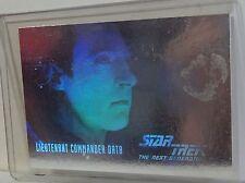 STAR TREK THE NEXT GENERATION SEASON 1 COMMANDER DATA HOLOGRAM CHASE CARD-HG 2-