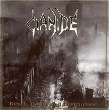 Cianide-Death, Doom and destruction CD