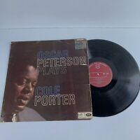 Oscar Peterson Plays Cole Porter Vinyl Record LP Album