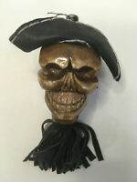 Exclusive Handmade Wooden Carved Skull Lacquered Prison Art