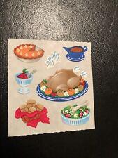 Sandylion Vintage stickers - Thanksgiving Dinner