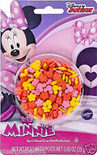Disney Minnie Mouse Sprinkles Cupcake Cake Toppers Decorations Candy Candies