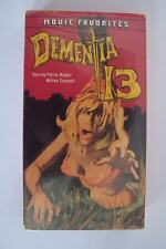 Dementia 13 VHS 1963 William Campbell Patrick Magee Francis Ford Coppola Directo