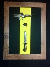 2nd Battalion The Royal Anglian Regiment Presentation Frame with L85A2