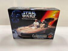 Star Wars Kenner Power of the Force Landspeeder Potf 2 New 1995 Open Sealed Cont