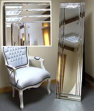 "Grace Modern Free Standing Cheval floor Salon Bedroom Mirror Venetian 15"" x 59"""