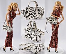 "Sherry Doll Bag 12-22"" Tonner Sybarite Fashion Royalty Poppy Parker FR2 (27Bag-7"