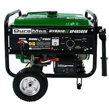 Duromax XP4850EH 3850 Running Watts/4850 Starting Watts Dual Fuel Electric Start
