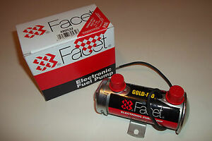FACET 'red top' electric fuel pump- race/rally/kit car/