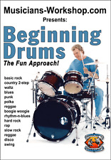 Learn to Play Drums Beginning Drums Instruction Course with Paul Murski DVD