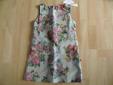 BENGH per principesse wunderschönes Kleid im Blumenmuster Gr. 122/128 NEU KJ2