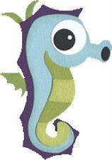 """Quickutz/Lifestyle Crafts C-0154-S-REV  """"Sea Horse"""" 4x4"""" Die CUSTOM"""